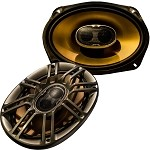Polk Audio DB691 6x9� 3-Way 300W Car or Boat Audio Coaxial Speakers