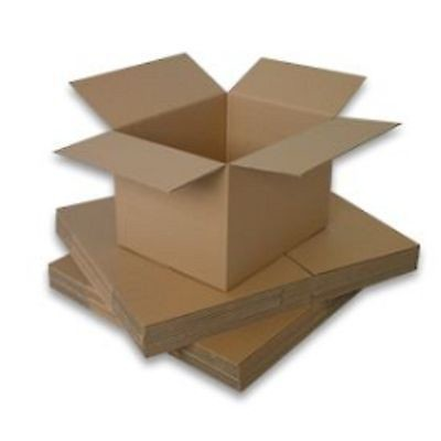 10 4x4x8 Cardboard Shipping Box Container Corrugated Card Board Storage