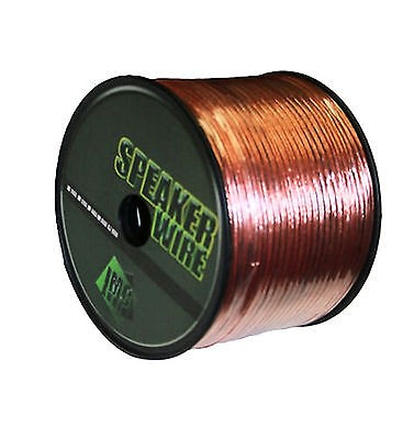 16 GAUGE SPEAKER WIRE CLEAR PER 25 FT AWG STRANDED CABLE CAR HOME TRUCK RV SUV