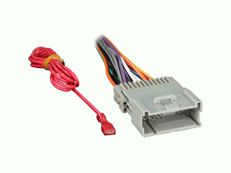 2000-2005 Chevrolet Monte Carlo Wiring Harness for After Market Radio on astro van wiring harness, firebird wiring harness, chevelle wiring harness, camaro wiring harness, pt cruiser wiring harness, corvette wiring harness,