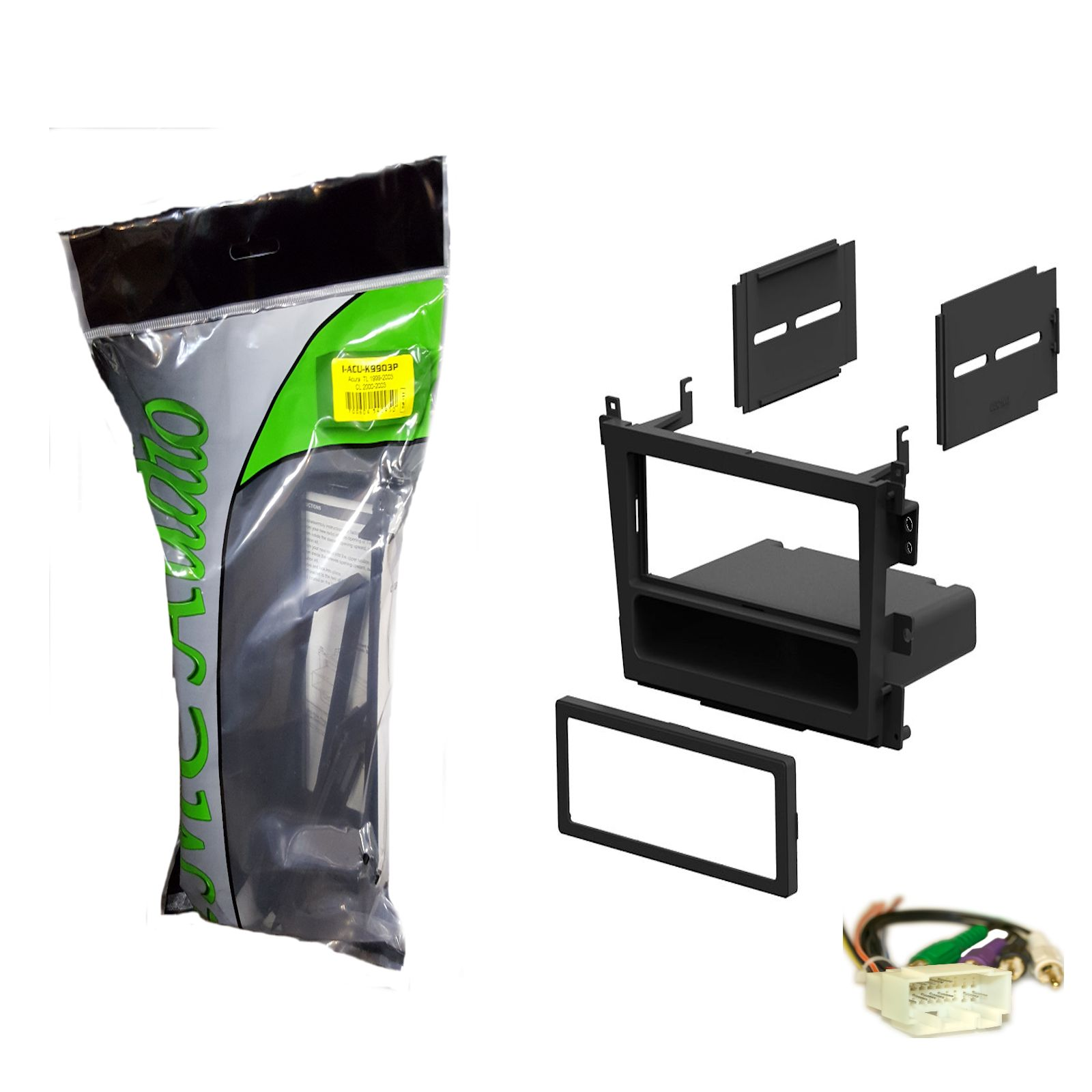 1999-2003 Acura CL TL Single Din Dash Kit For Stereo