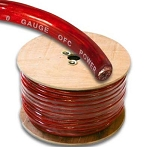 SuperFat SF0RE200 0 Gauge Power Wire 200 Ft Roll Red
