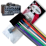 JVC KD-HDR1 KDHDR20 KDHDR30 KDHDR50 KDLH1000 Wiring Harness Adapter