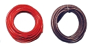 10 Ft - 8 Gauge Power Wire Red High Quality GA Guage Ground AWG 5 Feet Red 5 Feet Black