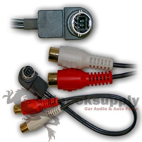 RCA Cable to JVC Jlink KD-DV7400  KD-G340 KD-HDR30 KD-HDR40 KD-HDR60 KD-LX10