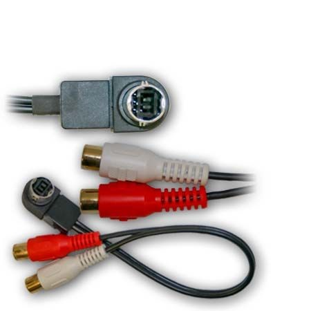 Alpine CDAD852 CDAD853 CDAD855 CDAD857 Auxiliary Input Adapter RCA Cable