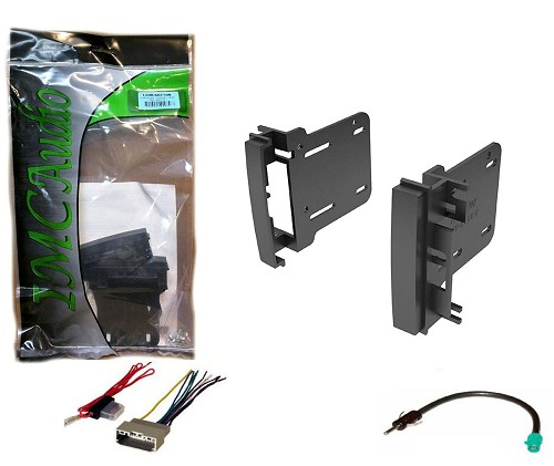 2009 2010 2011 2012 2013 2014 2015 Jeep Patriot Dash Kit for Double Din  Stereo InstallationUneeksupply