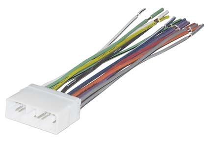 2004-2006 suzuki verona wiring harness for after market radio install  uneeksupply