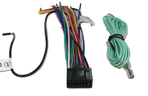 [TBQL_4184]  Wiring Harness for Kenwood DDX5706S DDX6703S DDX6706S DDX6903S DDX6906S | Kenwood Wire Harness |  | Uneeksupply