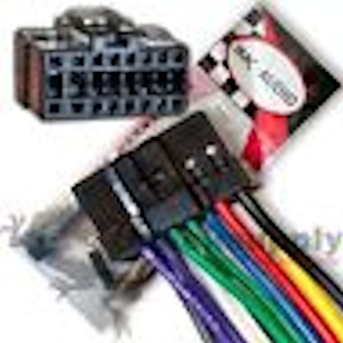 Panasonic Wiring Harness 16 Pin Black Plug