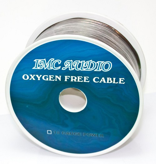 IMC Audio PC18BK500 18 Gauge Primary Wire 500 Ft Roll Black